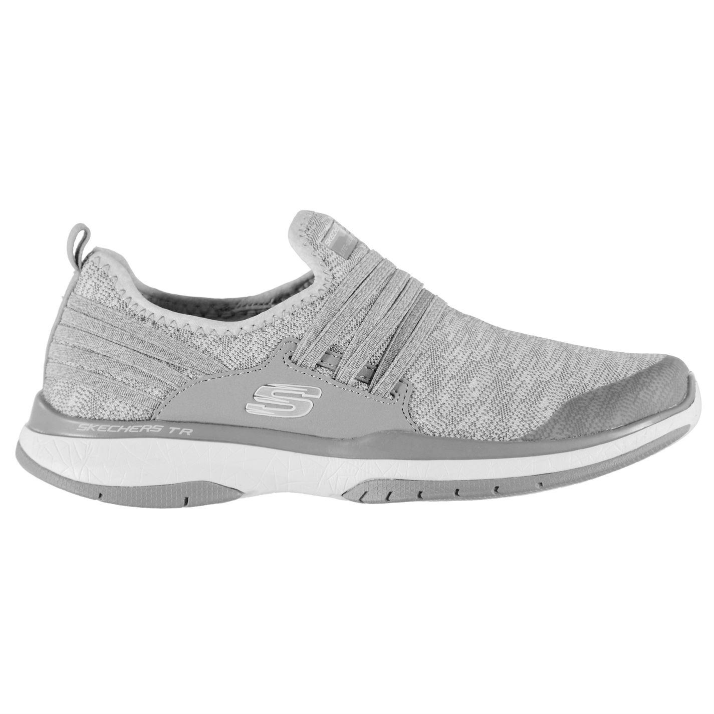 e13b637c7f4 Дамски маратонки Skechers Burst Trainers Ladies - Grey с цена от лв -  Sravni.bg