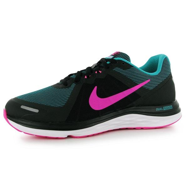 Espectador docena Bienvenido  Nike Dual Fusion X 2 Ladies Trainers Black/Pink/Grn с цена от лв - Sravni.bg