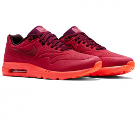 delicate colors detailing popular stores Nike AirMax 1 Ultra Moire Red
